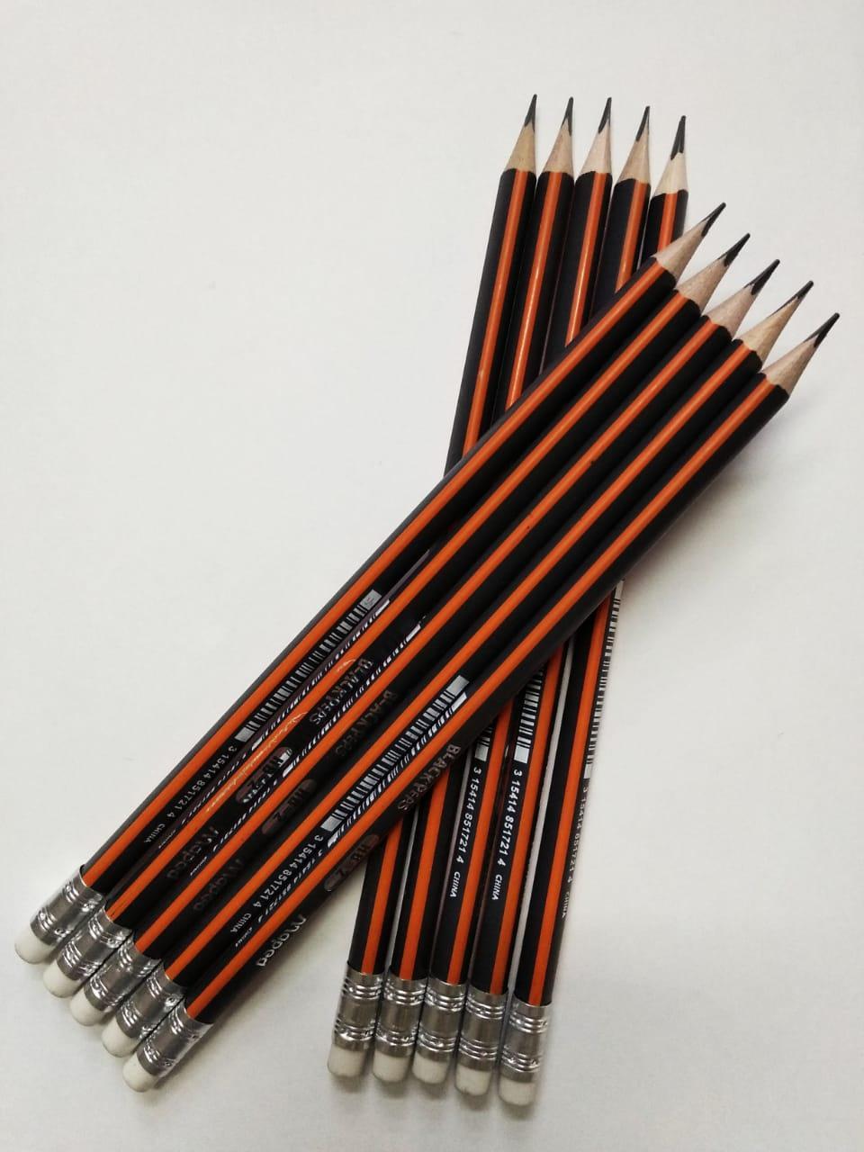 Простой карандаш мареd black peps