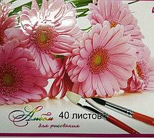 """Альбом для рисования 40 листов """"Yalong"""""""