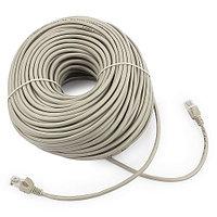 Патч-корд UTP Cablexpert PP12-50m кат.5e, 50м, литой, многожильный (серый)