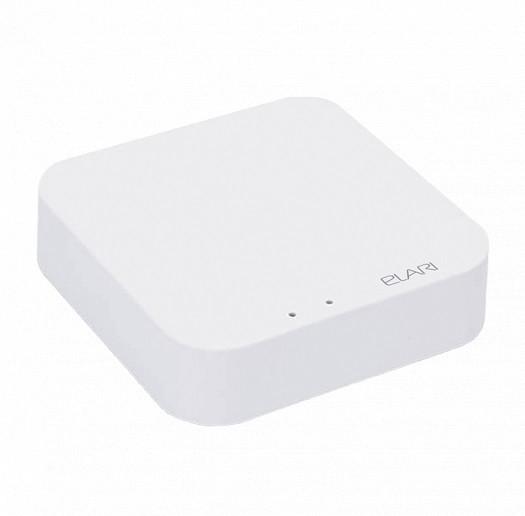 Умный контроллер датчиков и устройств ELARI Smart HUB белый