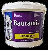 Краска силиконовая, серая Silicon extra база В 24 кг