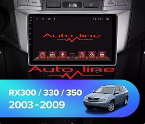 ANDROID 8.1.0 Lexus RX-330 2003-2009г.  HD ЭКРАН 1024-600 ПРОЦЕССОР 8 ЯДЕР (OCTA CORE)