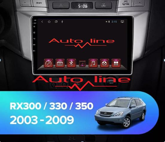 ANDROID 8.1.0 Lexus RX-330 2003-2009г. HD ЭКРАН 1024-600 ПРОЦЕССОР 4 ЯДРА (QUAD CORE)