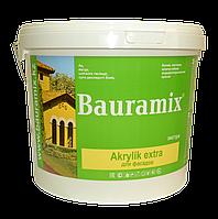 Краска белая для фасадов Akrilik extra 25 кг