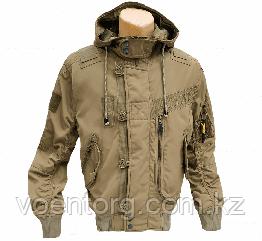 Куртка лётная с капюшоном демисезонная