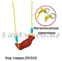 Детские подвесные качели Swing sports world 38,5х16,3 см красный