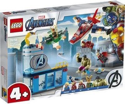 Конструктор LEGO Super Heroes Мстители Гнев Локи