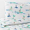 РЁДХАКЕ Комплект постельного белья, 3 предм, плывущий мышонок, 60x120 см