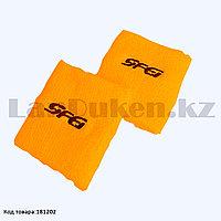 Напульсник на запястье оранжевый Wristband 682660