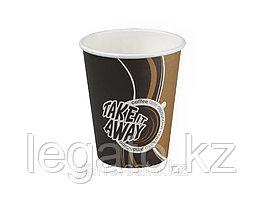 Стакан бумажн.для гор.напитков 350мл Coffe take away 1000 шт/кор