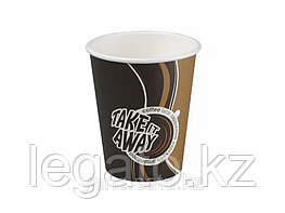 Стакан бумажн.для гор.напитков 400мл Coffe take away  1000 шт/кор