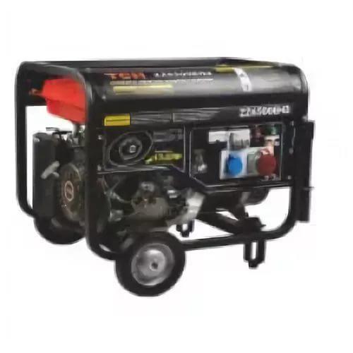 Бензиновый генератор 5,5 кВт/380В