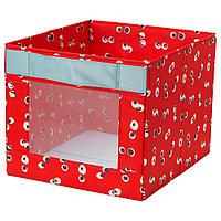 АНГЕЛЭГЕН Коробка, красный, 38x42x33 см, фото 1
