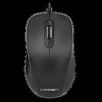 Мышь проводная CMM-501 Black Бесшумная мышь