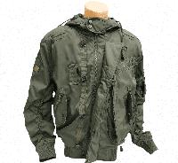 Куртка летная с капюшоном демисезонная
