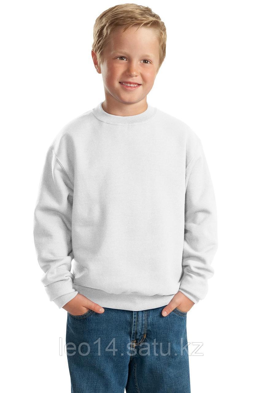 "Свитшот ФУТЕР (р-р: 32) ""Fashion kid"" цвет: белый"