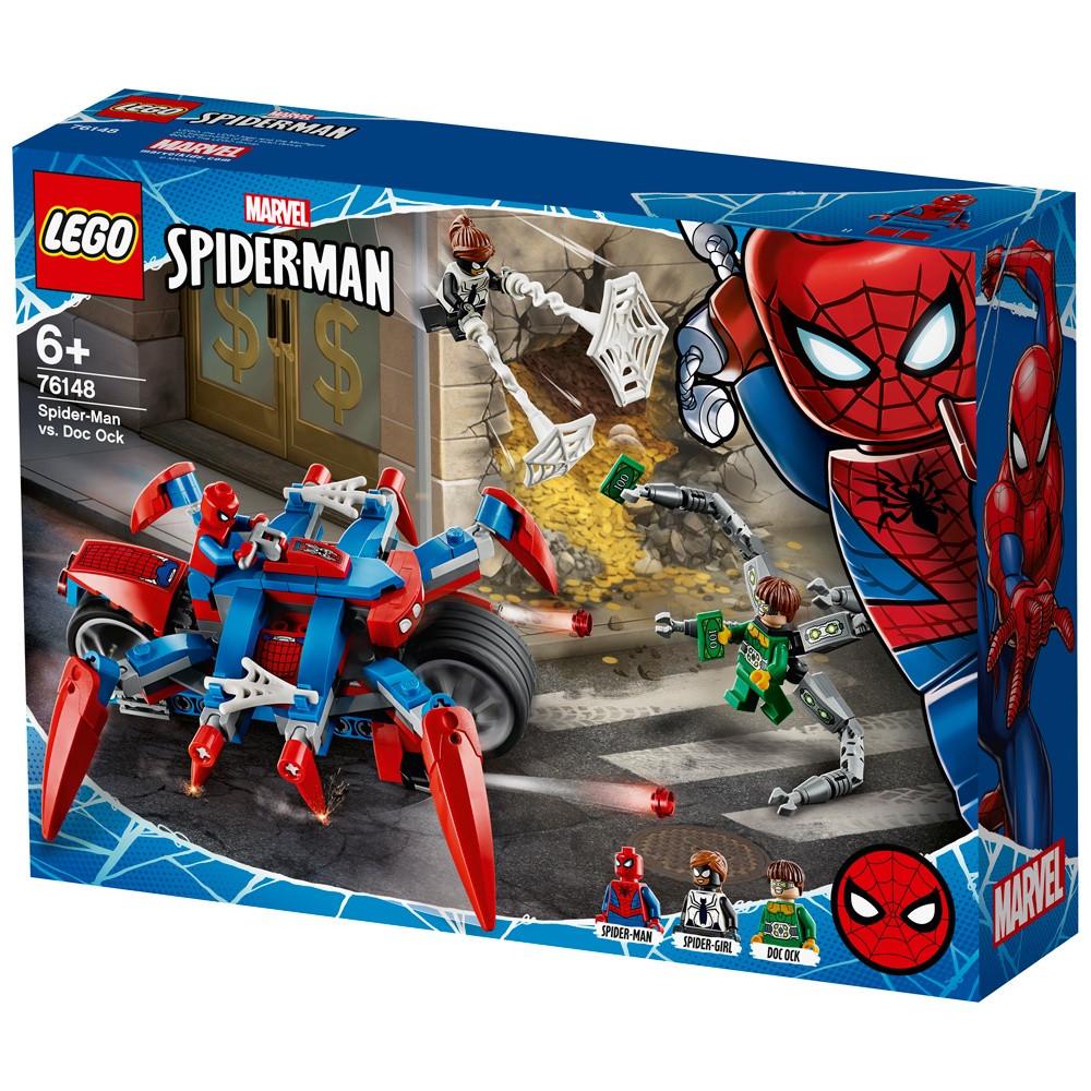 Конструктор LEGO Marvel Super Heroes Человек-Паук против Доктора Осьминога
