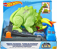 HOT WHEELS Трек Smashin' Triceratops