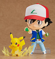 Nendoroid Satoshi and Pikachu