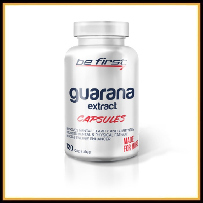 Be First Guarana extract 120капсул