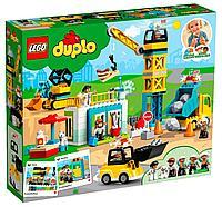 LEGO возраст 2+ : Duplo Башенный кран на стройке 10933
