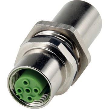 EPIC® DATA FT IE Штекеры для промышленного Ethernet для монтажа через стенку