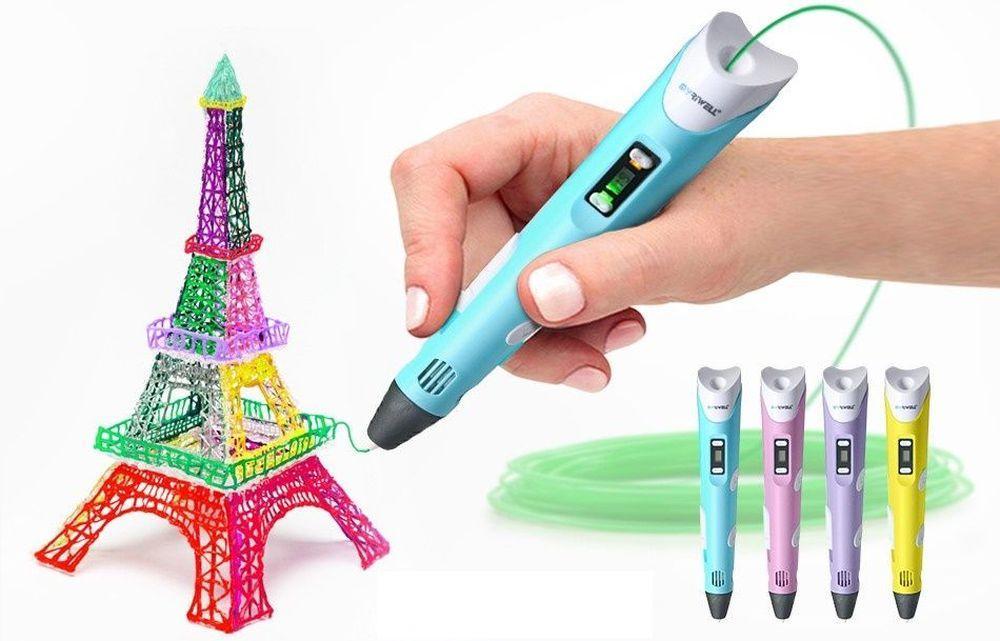 3D ручка 3DPEN-2 цвет в ассортименте - фото 4