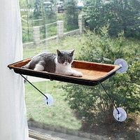 Гамак для кошек на присосках