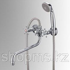 Смеситель Славен СЛ-ДВ-И31 Ванна с длинным изливом