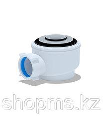 Сифон для душ.поддона 1 1/2**50/60 хром, клик-клак (E410CL)