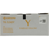 Тонер-картридж Kyocera TK-5240Y for FS-P5026/M5526 TK-5240 Yellow (3K)