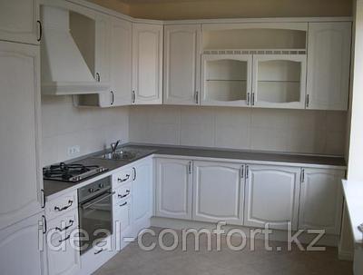 Кухни с крашеными фасадами из МДФ