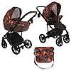 Детская коляска 2 в 1 Pituso Confort Plus 2020 гелевые колеса (19)