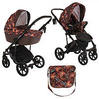 Детская коляска 2 в 1 Pituso Confort Plus 2020 гелевые колеса (19), фото 1