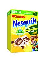 Nesquik®. BananaCrush. Злаковые подушечки с начинкой со вкусом банана 220 гр