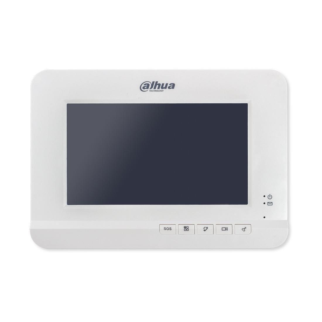 """Dahua DHI-VTH2221A Вызывная панель Наружняя, 7 """"TFT резистивный сенсорный экран, H.264, 1 порт RJ45 10/100Mbps"""