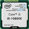 Core i5-10600K, oem/tray
