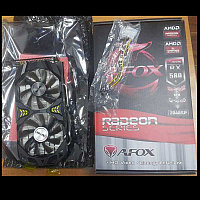 8GB RX 580 2048 SP GDDR5 256-bit AFOX RX580 2048SP (AFRX580-8192D5H7) - Retail package, фото 1