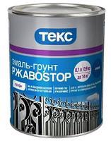 Эмаль-грунт по ржавчине РжавоStop Текс Профи молотковая бронзовая 0,9 кг