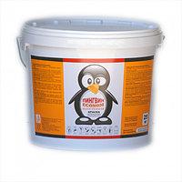 Краска интерьерная Пингвин, сухая уборка, белая, 3,5 кг