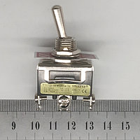 Тумблер 2 положения с фиксацией 15А 3 контакта, фото 1