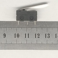 Концевой выключатель 20х10х6мм планка 3 вывода