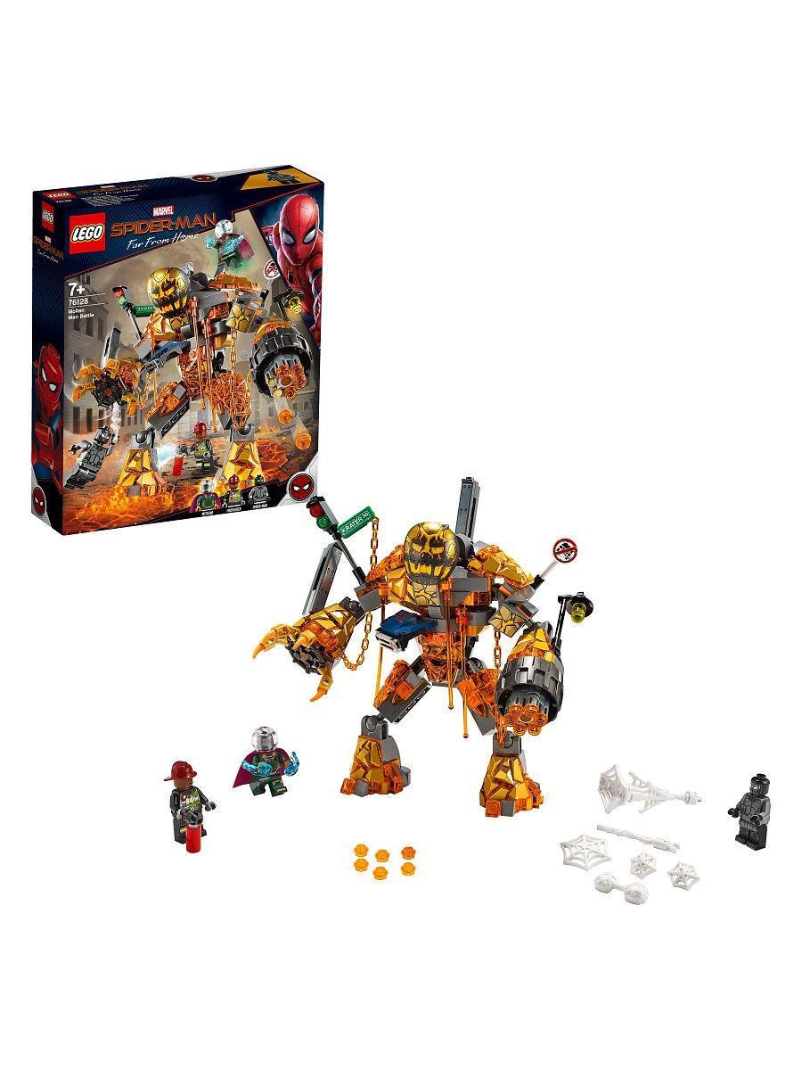 Конструктор Lego Super Heroes Бой с Расплавленным Человеком