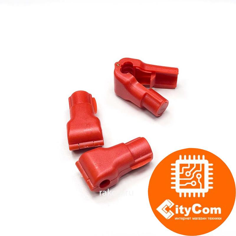 Антикражный датчик фиксатор для товаров на крючках Stop Lock E-S6, D:6мм красный