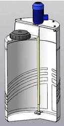 Емкость дозировочная 100 с пропеллерной мешалкой