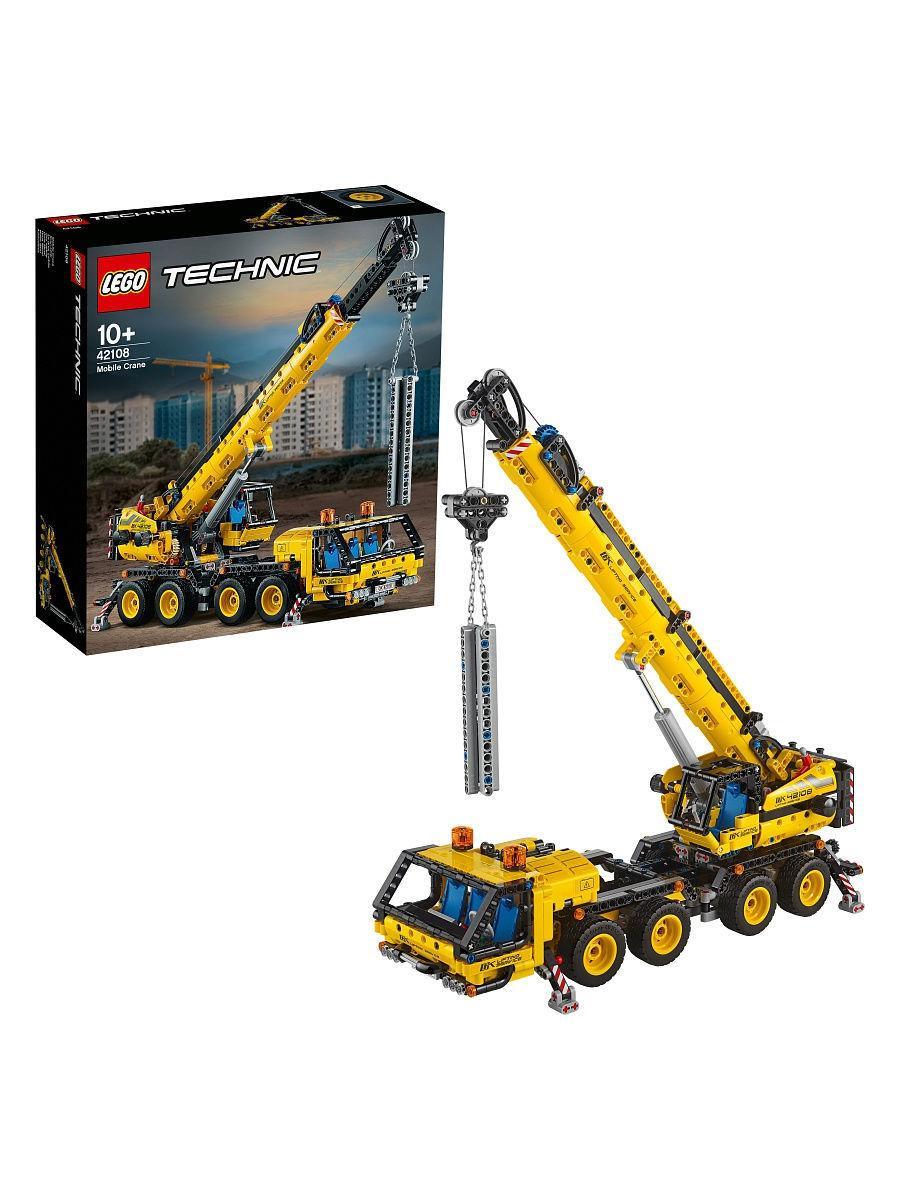 Конструктор LEGO Мобильный кран Technic 42108