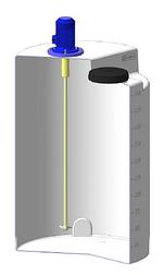 Емкость дозировочная 500 с пропеллерной мешалкой