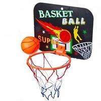 Набор для баскетбола, детский, корзина, 23х18 см, 2 мяча, пластик