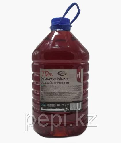 Мыло хозяйственное жидкое 72%, 5 литров