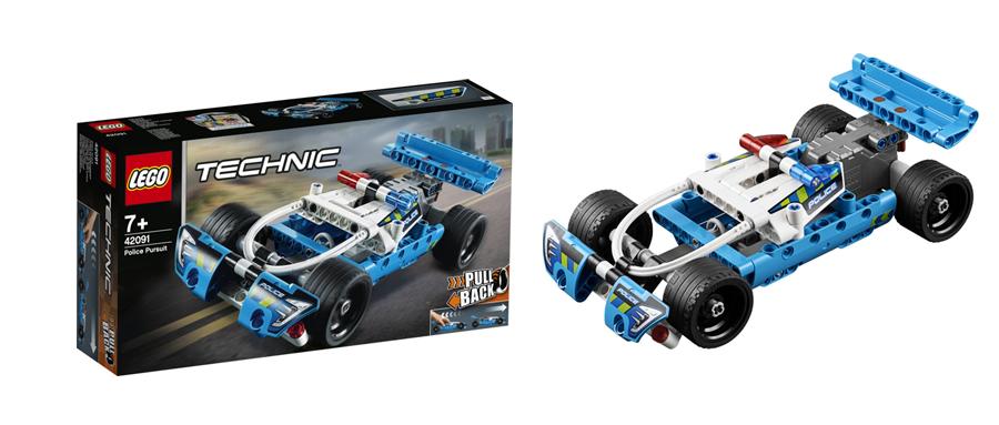 Конструктор LEGO Полицейская погоня Technic 42091